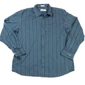 Gentlemen Calvin Klein Long Sleeve Shirt Size XL